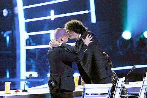 America's Got Talent - Season 8 - Howie Mandel and Howard Stern
