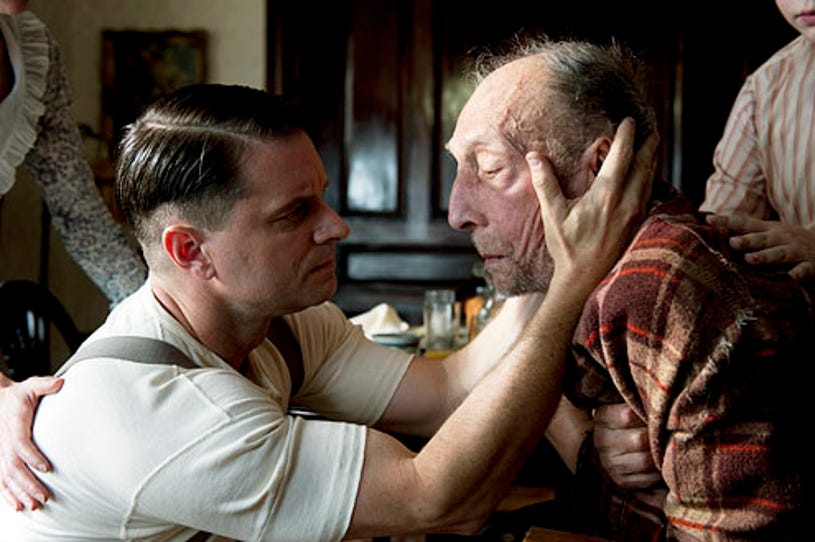 """Boardwalk Empire - Season 2 - """"Two Boats and a Lifeguard"""" - Shea Whigham and Tom Aldredge"""