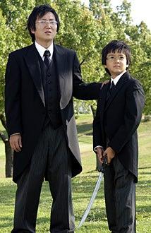 """Heroes - Season 2 - """"Cautionary Tales""""  - Masi Oka as """"Hiro Nakamura"""", Sekai Murashige as """"Young Hiro"""""""