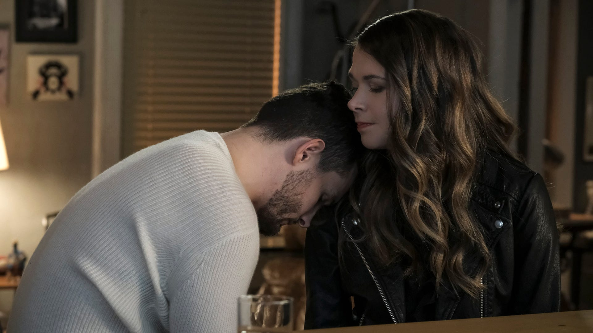 Nico Tortorella and Sutton Foster, Younger