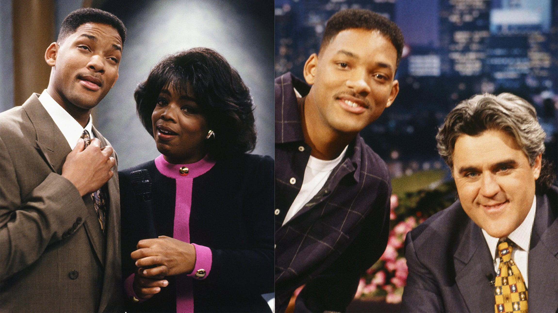 Will Smith and Oprah Winfrey, Will Smith and Jay Leno; The Fresh Prince of Bel-Air
