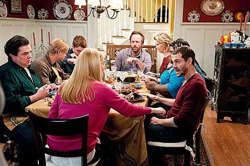 "The Big C - Season 2 - ""The Last Thanksgiving"" - Oliver Platt, Boyd Holbrook, Gabriel Balsso, Laura Linney, John Benjamin Hickey, Cynthia Nixon, Gabourey Sidibe and Hugh Dancy"