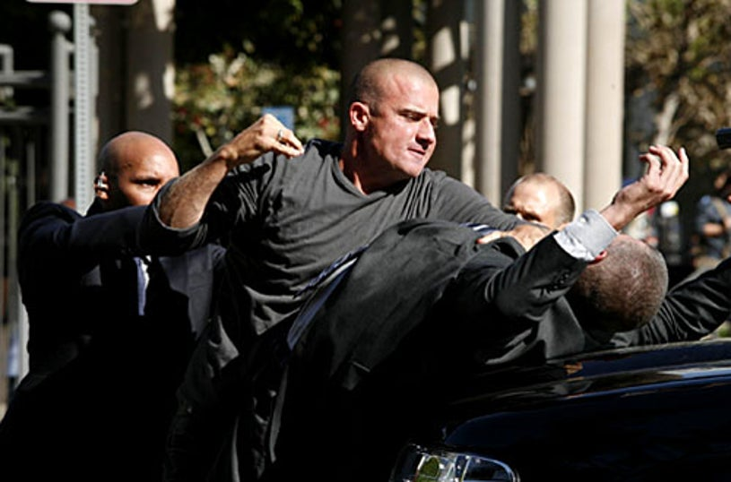 """Prison Break - Season 4, """"Deal or No Deal"""" - Dominic Purcell as Lincoln"""