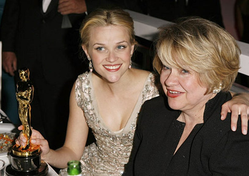 Reese Witherspoon and mother Betty - 78th Annual Academy Awards