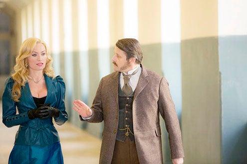 "Dracula - Season 1 - ""Goblin Merchant Men"" - Victoria Smurfit and Anthony Calf"