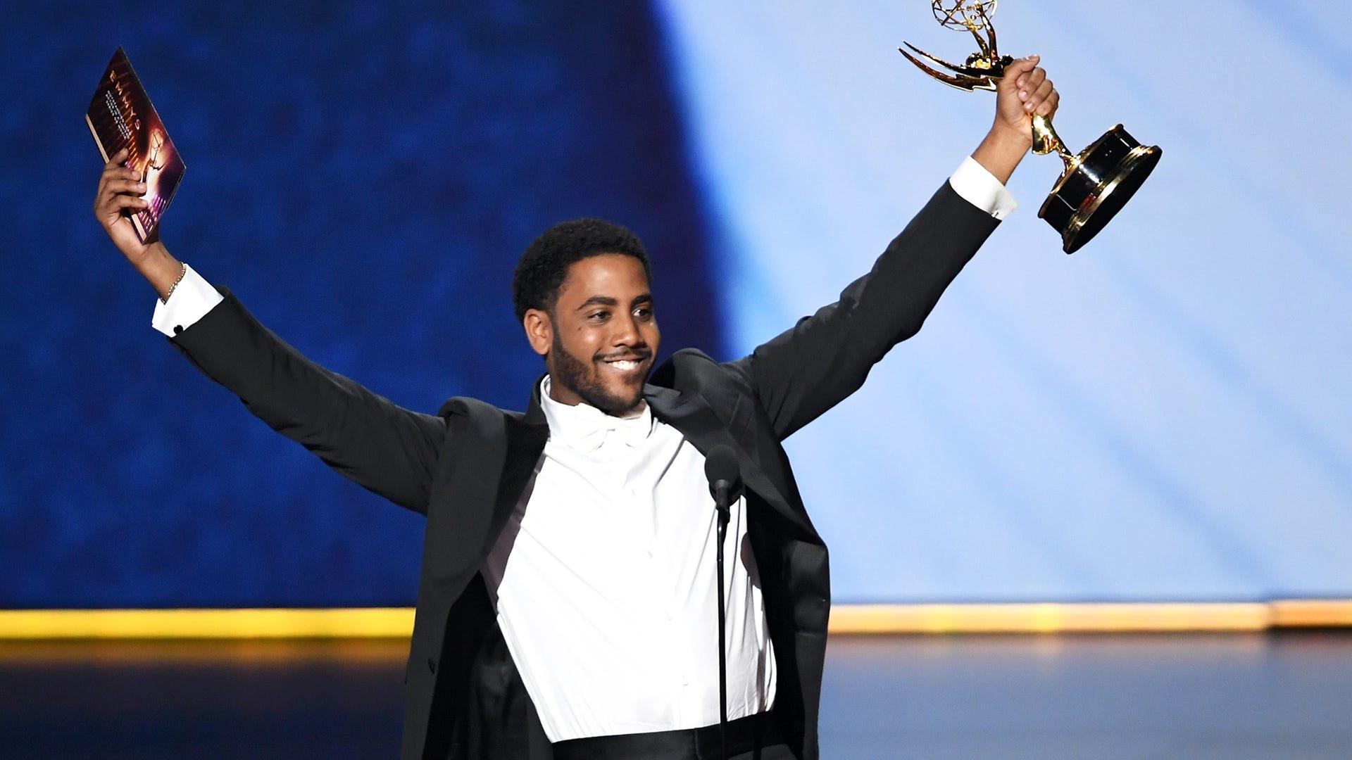 Jharrel Jerome at the 2019 Primetime Emmy Awards