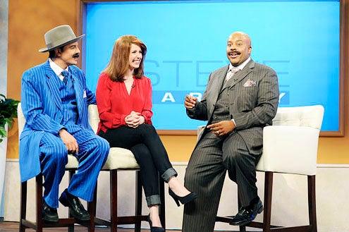 "Saturday Night Live - Season 38 - ""Seth MacFarlane""- Seth MacFarlane, Vanessa Bayer and Kenan Thompson"