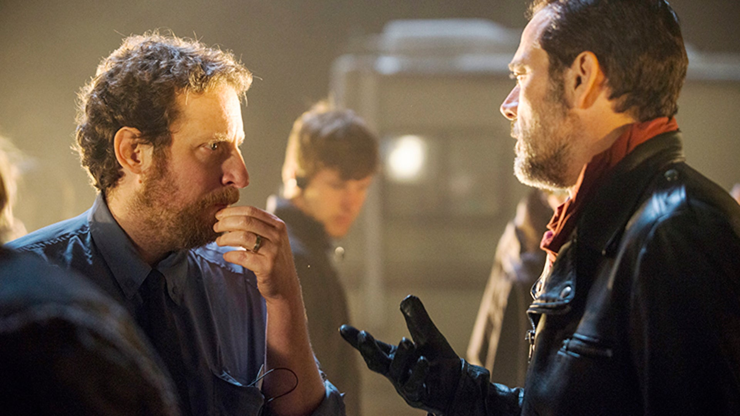 Scott Gimple and Jeffrey Dean Morgan, The Walking Dead