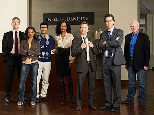 Franklin & Bash - Season 1 - Reed Diamond, Dana Davis, Kumail Nanjiani, Garcelle Beauvais Nilon, Breckin Meyer, Mark Paul Gosselaar and Malcolm McDowell