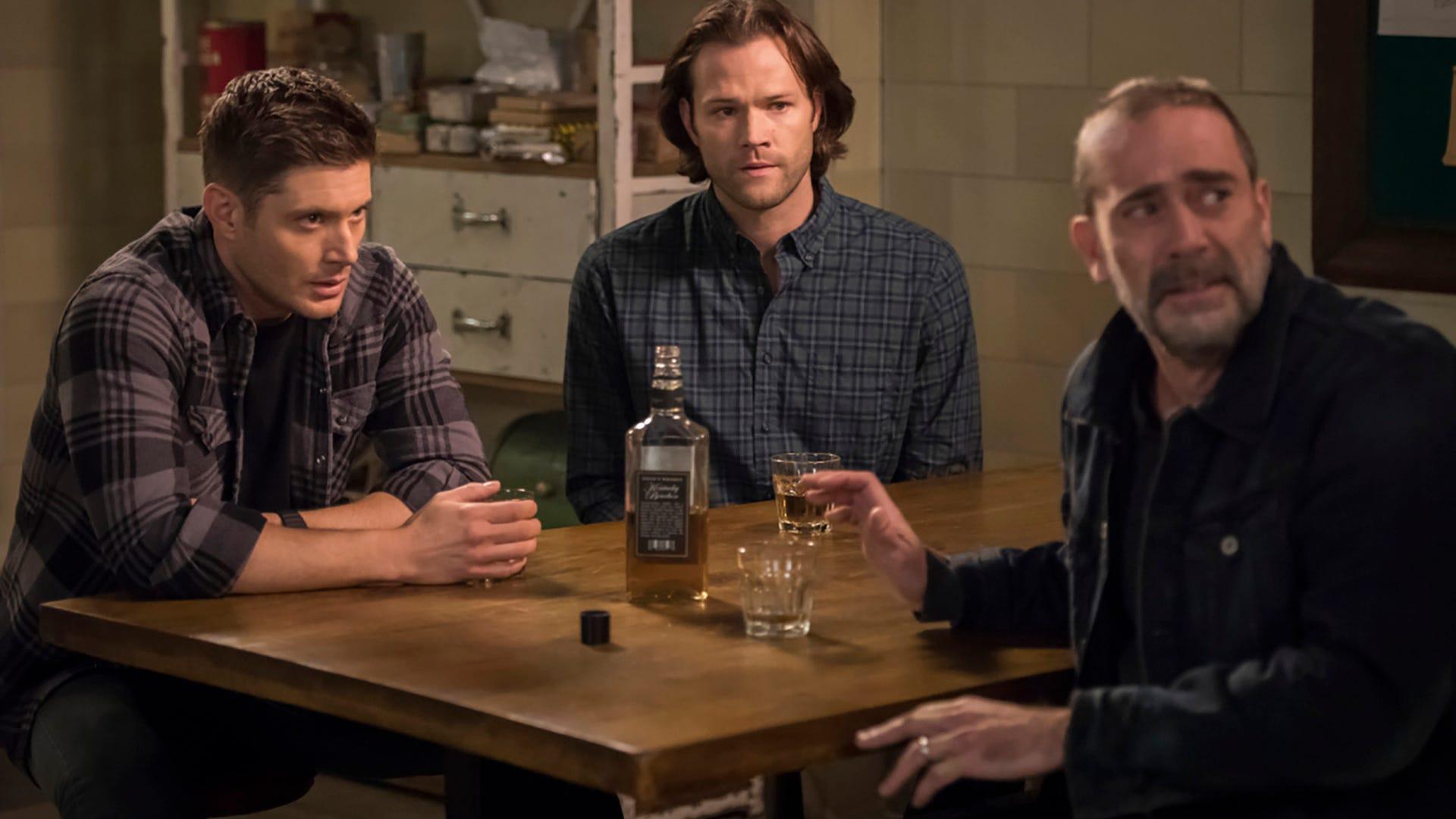 Jensen Ackles, Jared Padalecki and Jeffrey Dean Morgan, Supernatural