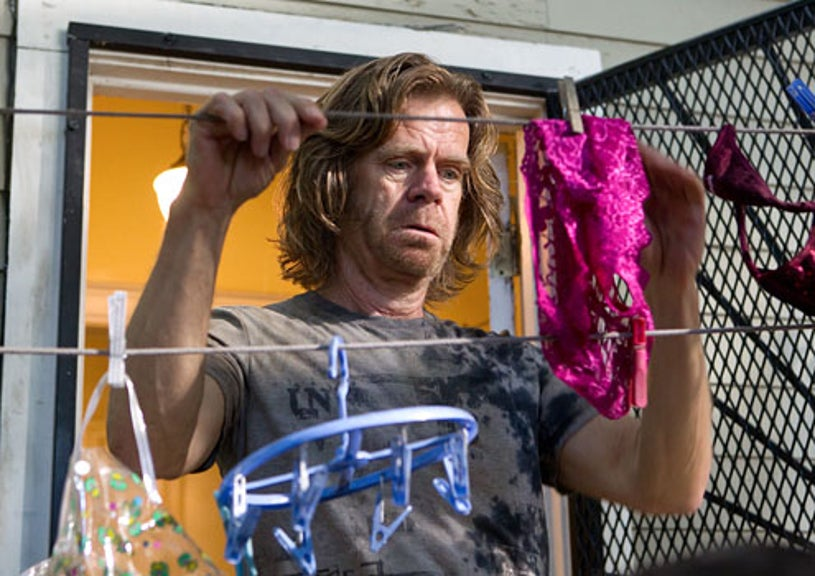 """Shameless - Season 2 -""""I'll Light a Candle for You Every Day"""" -  William H. Macy as Frank Gallagher"""