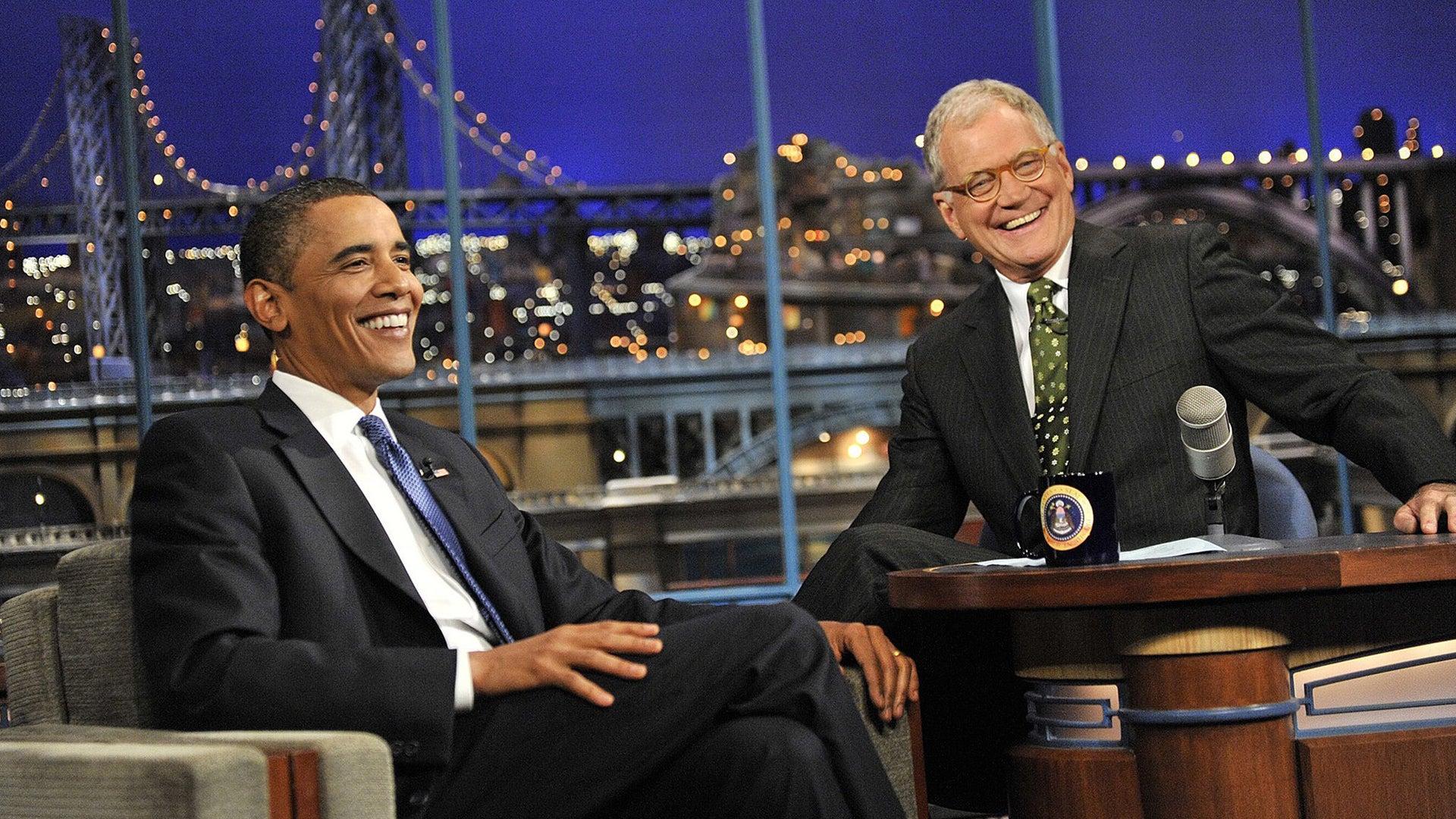 Barack Obama, David Letterman, The Late Show