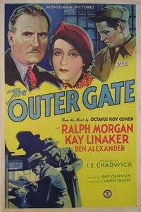 The Outer Gate as John Borden