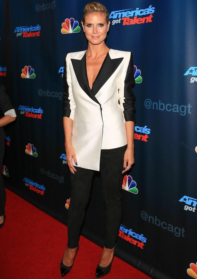 "Heidi Klum - ""America's Got Talent"" Season 8 Red Carpet Event in New York City, August 7, 2013"