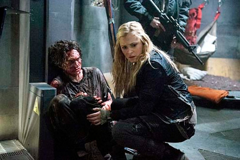 "The 100 - Season 1 - I Am Become Death"" - Richard Harmon and Eliza Taylor"