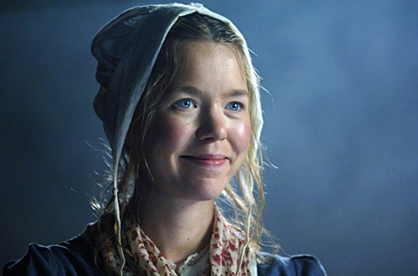 """Masterpiece Theatre - """"The Wind in the Willows"""" - Anna Maxwell-Martin as Jailor's daughter"""