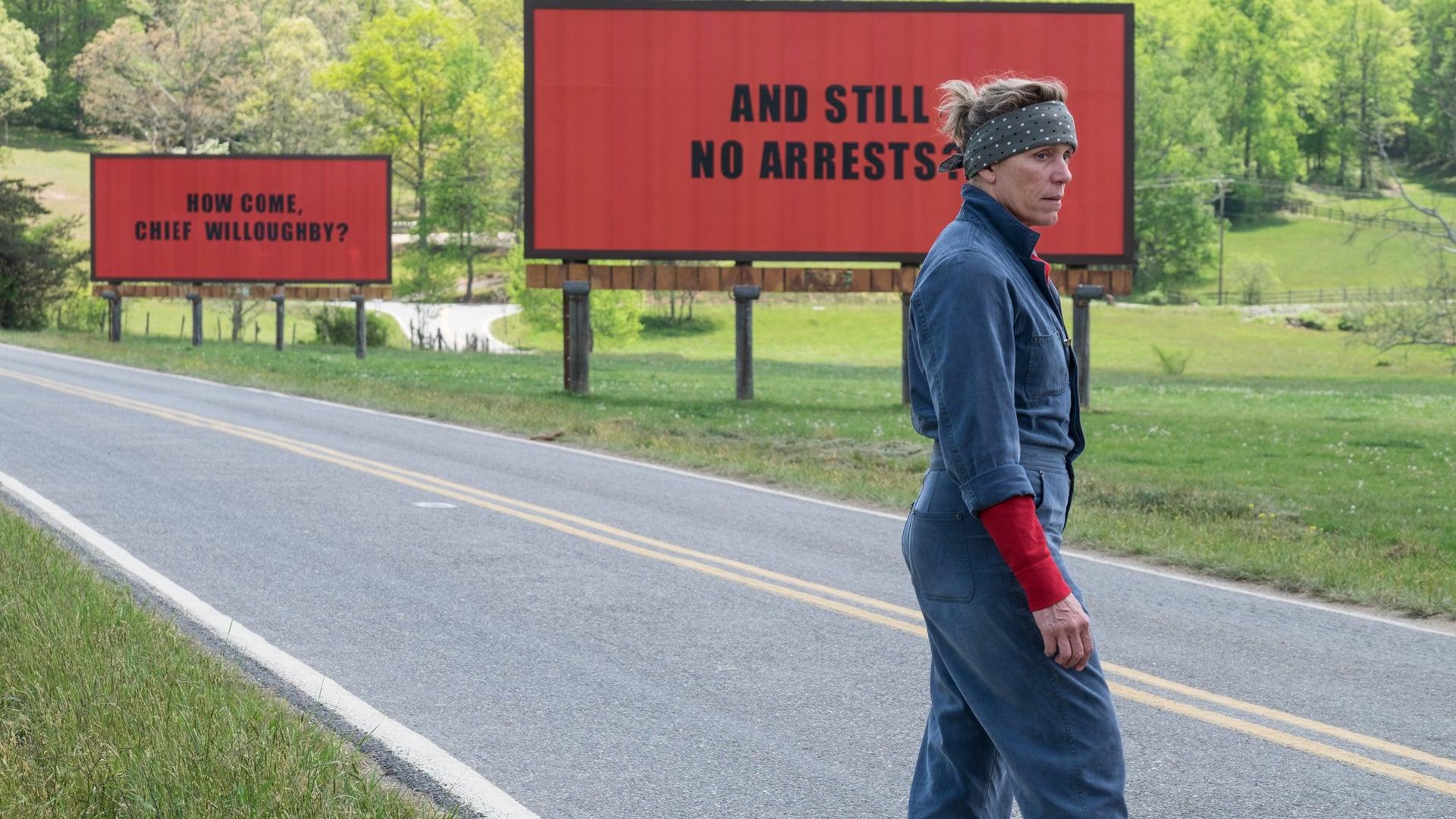 Frances McDormand, Three Billboards Outside Ebbing, Missouri