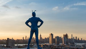 A Blue Hero Emerges in The Tick's Weirdly Funny First Trailer