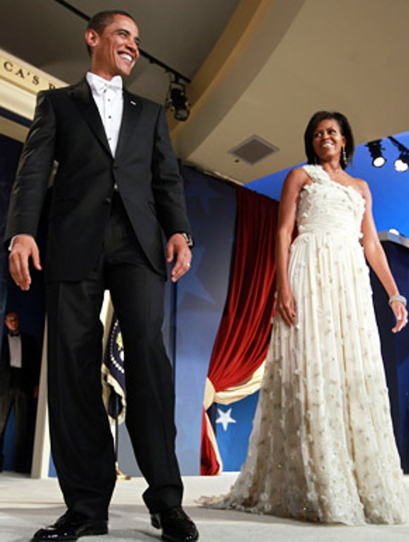 Barack Obama and Michelle Obama - The MTV & ServiceNation: Live From The Youth Inaugural Ball in Washington DC, January 20, 200