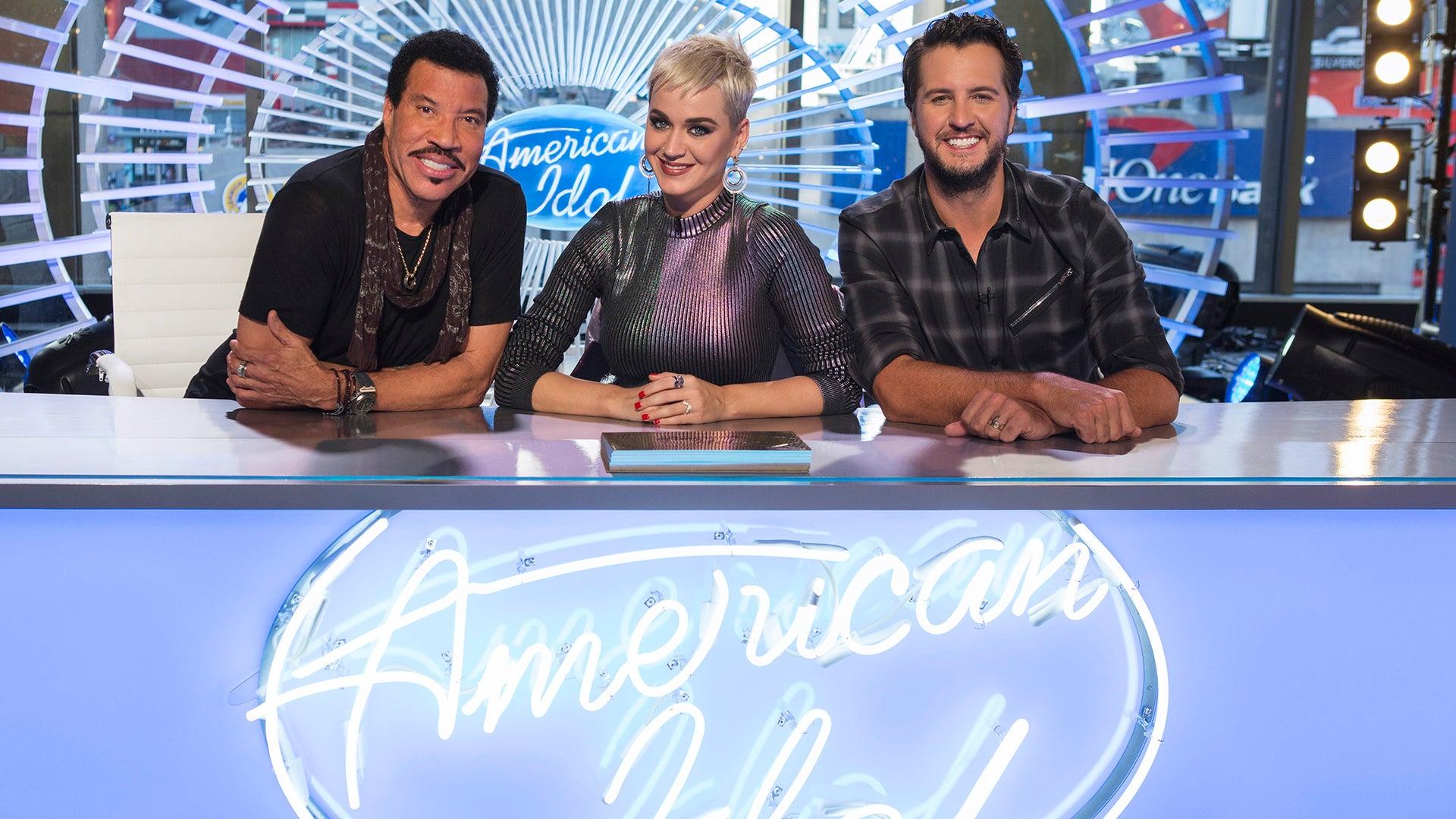 Lionel Richie, Katy Perry and Luke Bryan, American Idol