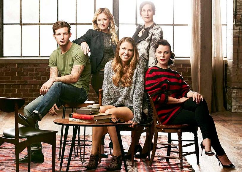 Younger - Season 1 - Hilary Duff, Sutton Foster, Miriam Shor and Debi Mazar