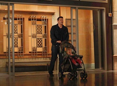 """Bones - Season 8 - """"The Shot in the Dark"""" - David Boreanaz, Ali/Susie Hartman"""