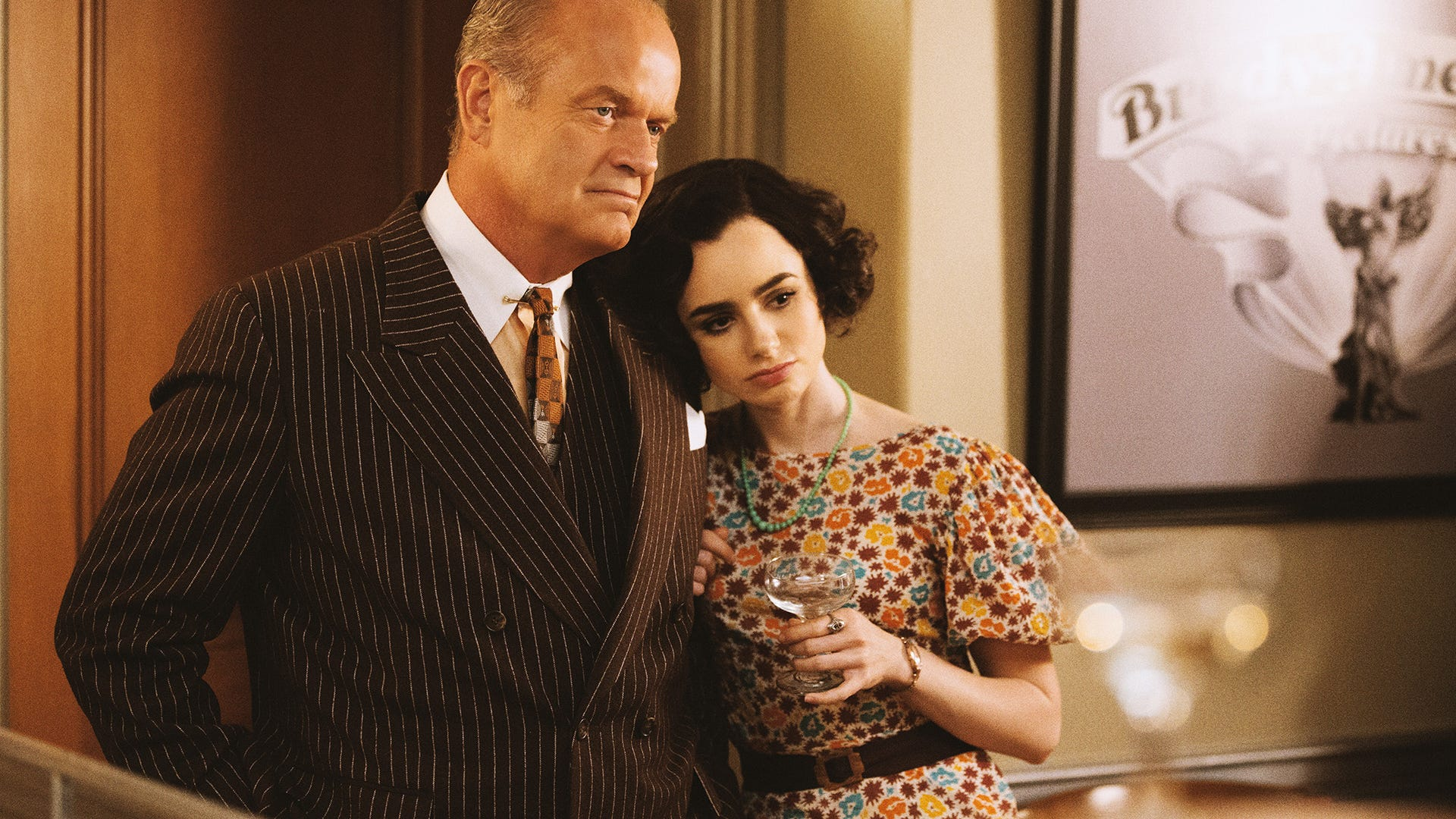 Kelsey Grammer and Lily Collins, The Last Tycoon