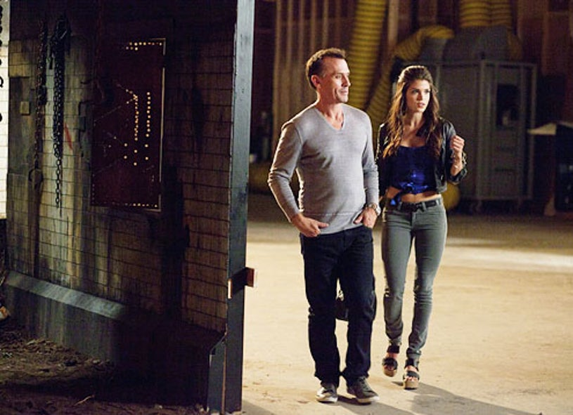 """Cult - Season 1 - """"Being Billy"""" - Robert Knepper and Marie Avgeropoulos"""