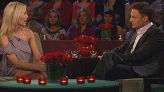 Rozlyn Papa and Chris Harrison, The Bachelor