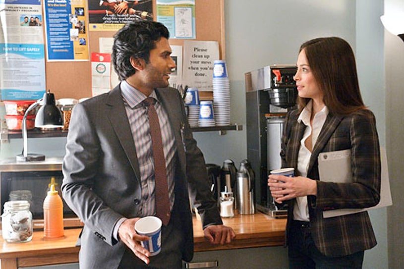 "Beauty and the Beast - Season 1 - ""Any Means Possible"" - Sendhil Ramamurthy and Kristin Kreuk"