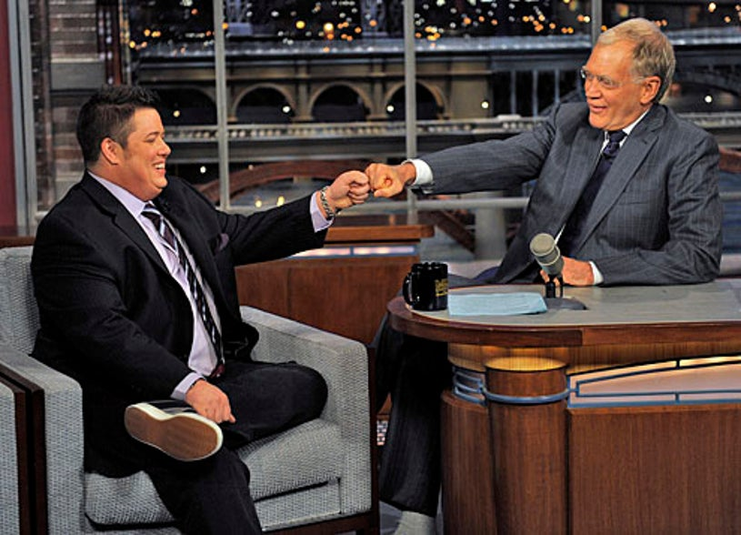 Late Show with David Letterman - Chaz Bono, David Letterman - May 11, 2011