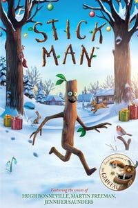 Stick Man as Santa