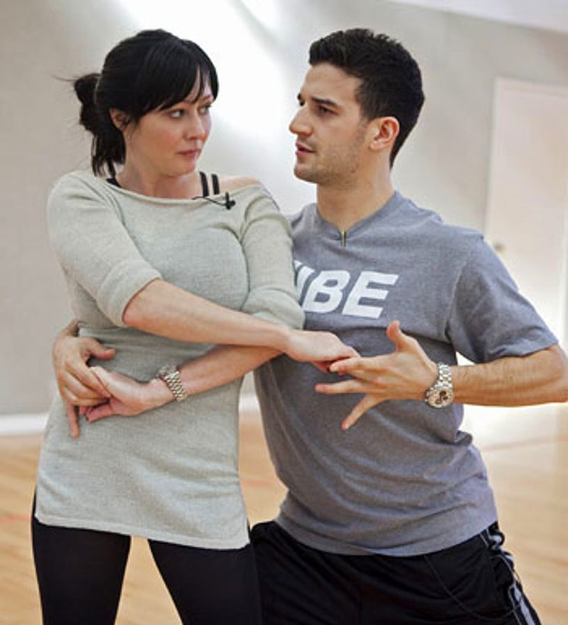Dancing With The Stars - Season 10 - Shannen Doherty and Mark Ballas