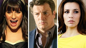Mega Buzz: Glee's Cliff-Hanger, Castle's Reckoning and Housewives' Seduction