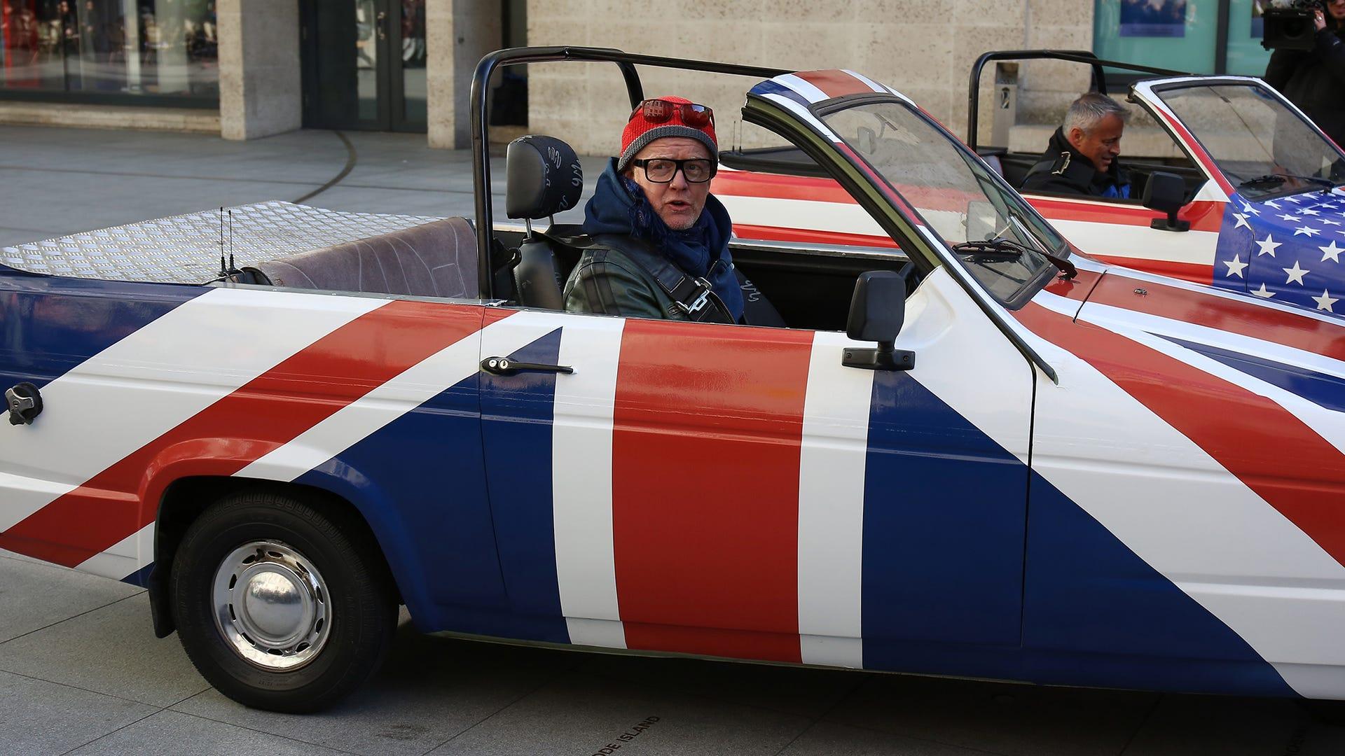 Chris Evans, Top Gear