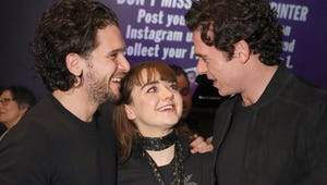 Richard Madden Just Gave Us the Sweetest Game of Thrones Stark Siblings Reunion