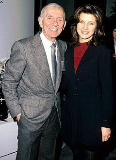 Aaron Spelling & Daphne Zuniga - 1995
