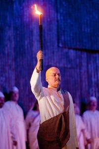 Richard Croft as Gandhi