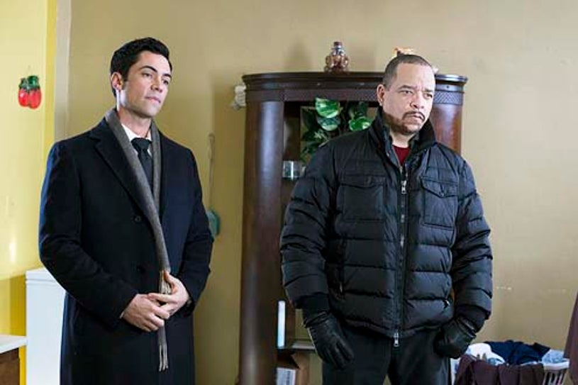 """Law & Order: Special Victims Unit - Season 15 - """"Betrayal's Climax"""" - Danny Pino and Ice-T"""