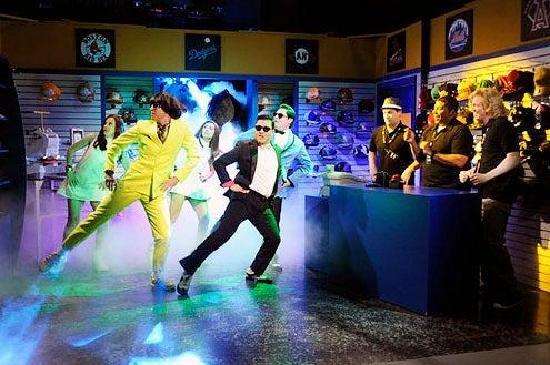 "Saturday Night Live - Season 38 - ""Seth MacFarlane""- Kate McKinnon, Taran Killam, Nasim Pedrad, Psy, Bobby Moynihan, Tim Robinson, Kenan Thompson and Seth MacFarlane"