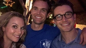 Photographic Proof the One Tree Hill Cast Had a Blast Filming Their Christmas Movie
