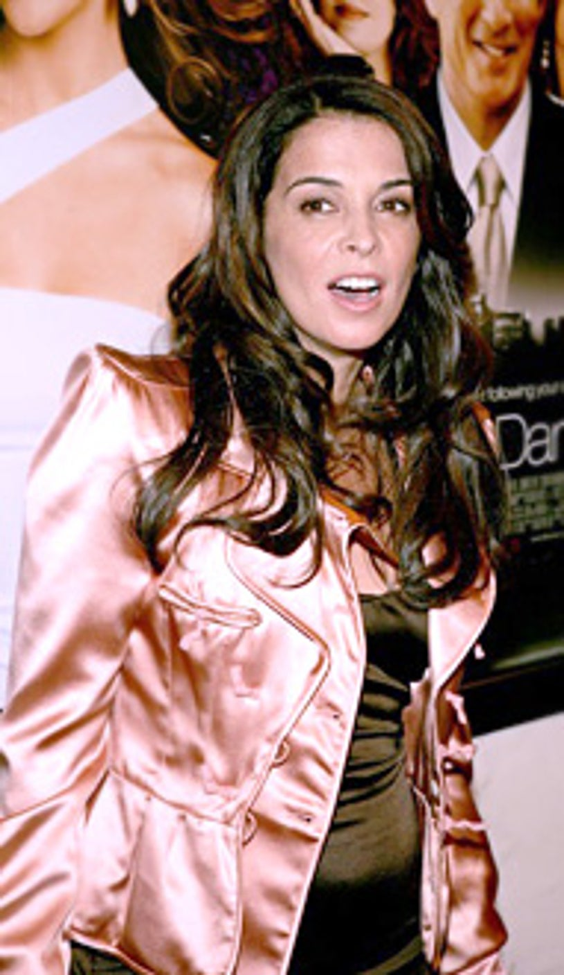 """Annabella Sciorra arrives at the """"Shall We Dance"""" New York  premiere."""