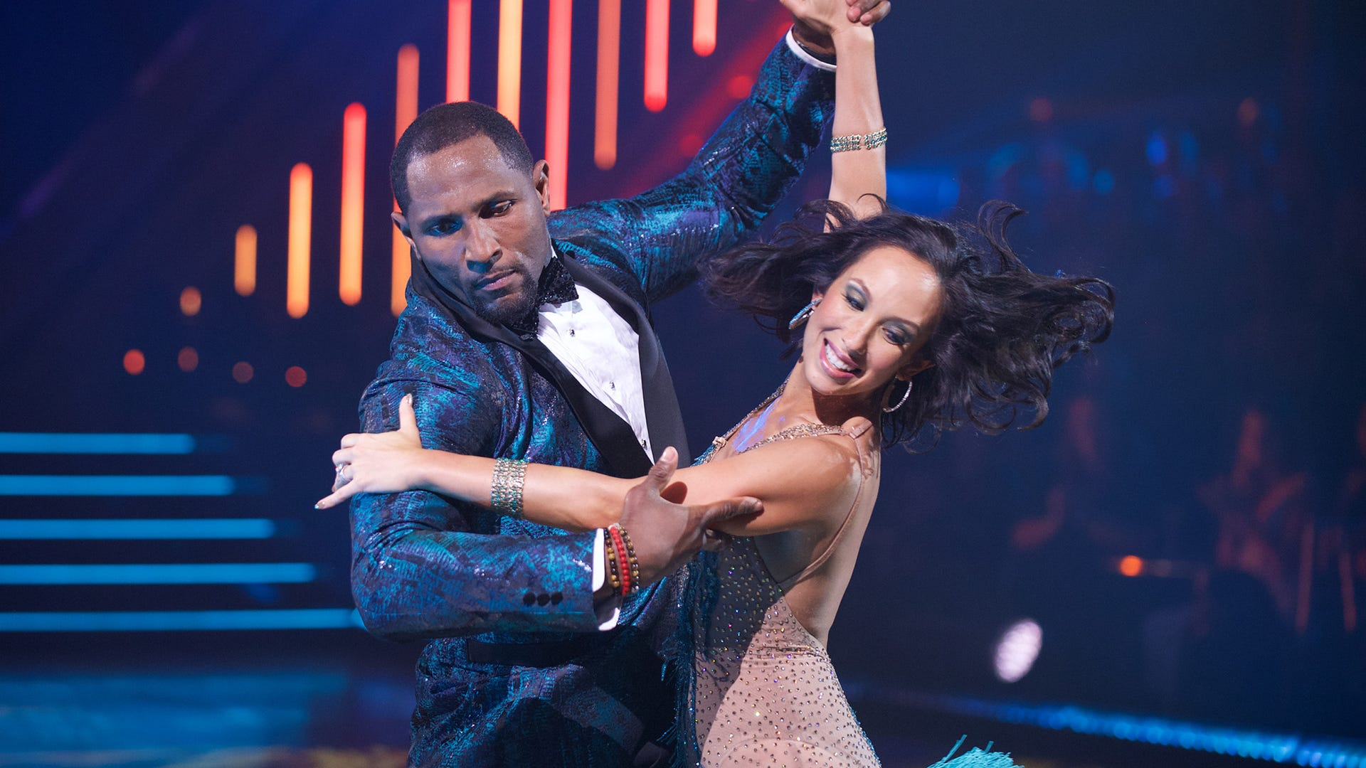 Ray Lewis and Cheryl Burke, Dancing with the Stars