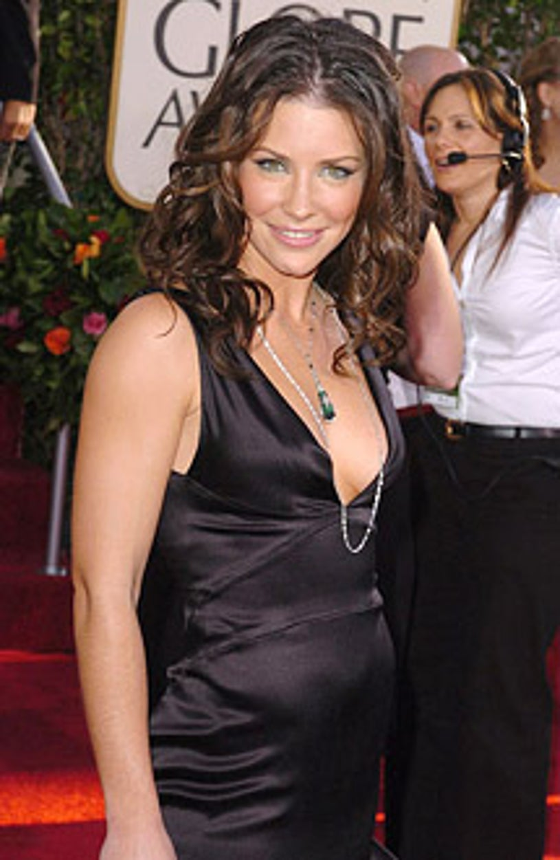 Evangeline Lilly - The 62nd Annual Golden Globe Awards - 2005
