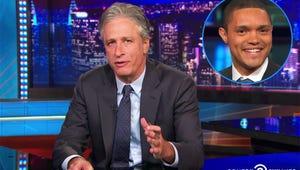 """VIDEO: Jon Stewart Finally Speaks Out About Trevor Noah """"Kerfuffle"""""""