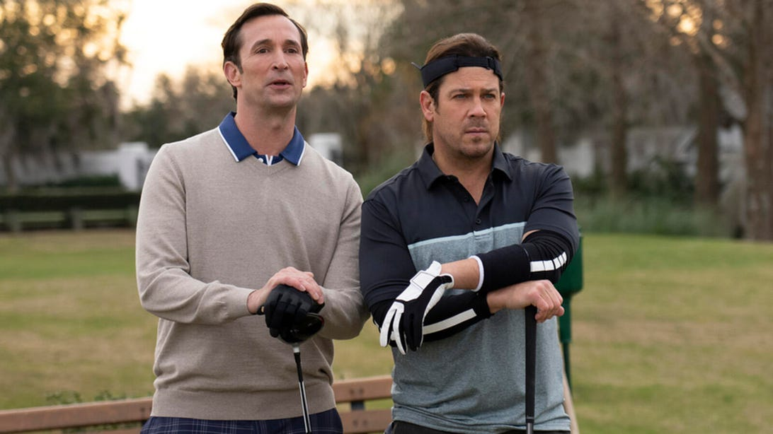 Noah Wyle and Christian Kane, Leverage: Redemption
