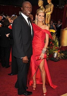 Seal and Heidi Klum - The 81st Annual Academy Awards, February 22, 2009
