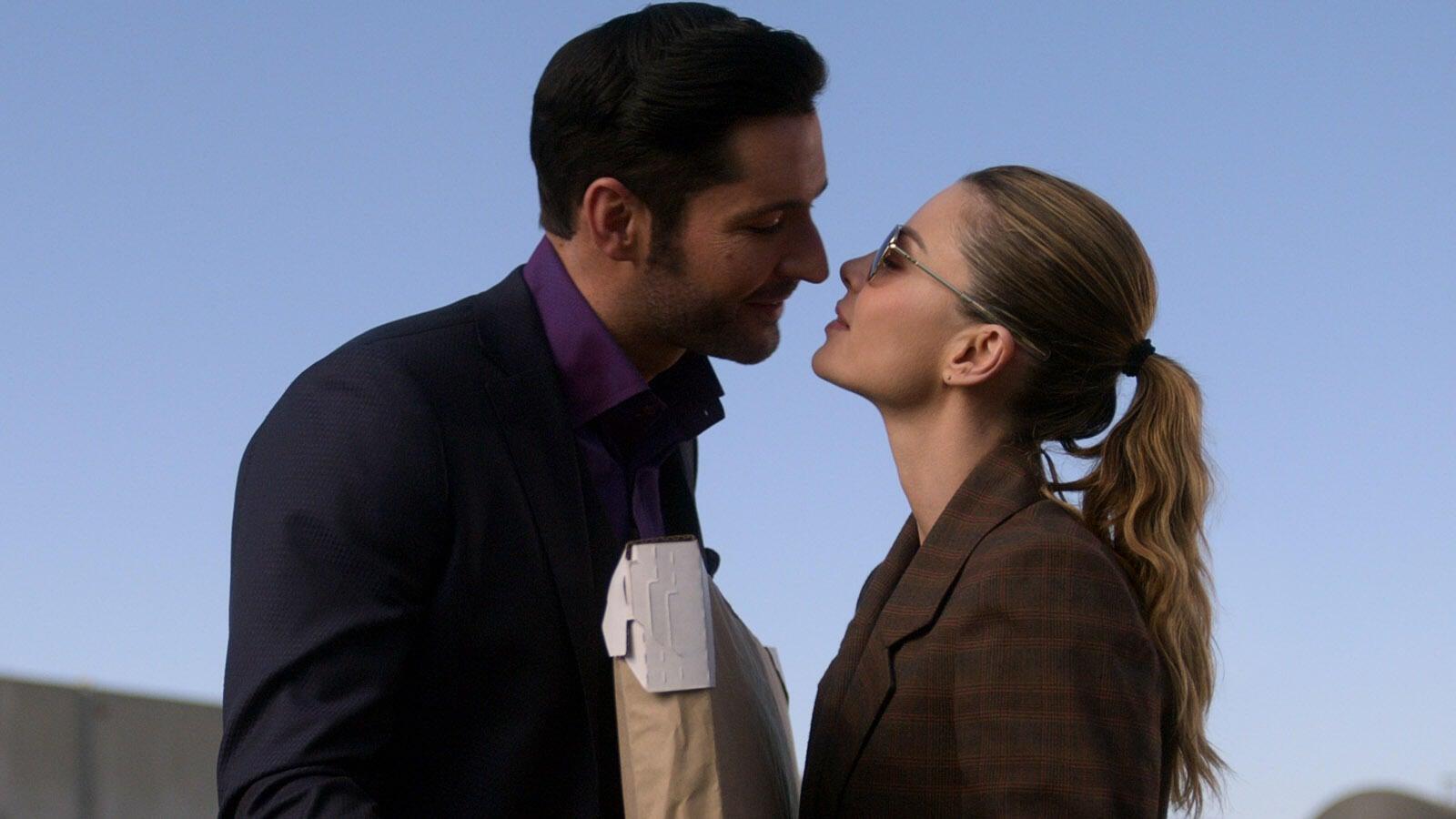 Tom Ellis and Lauren German, Lucifer