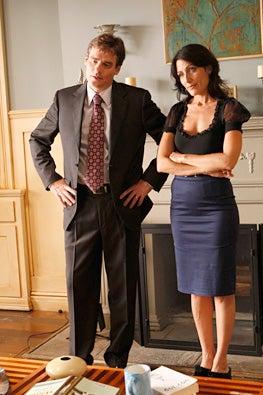 "House - Season 6 - ""Epic Fail"" - Robert Sean Leonard and Lisa Edelstein"