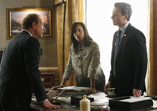 """Scandal – Season 3 – """"Kiss Kiss Bang Bang"""" - Jeff Perry, Kerry Washington, Tony Goldwyn"""